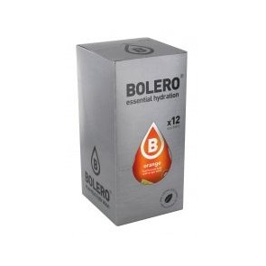 Pack 12 Sobres Bolero Drinks Sabor Naranja