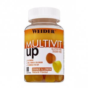 Weider Multivit Up 80 gummies Vitamin and Mineral Complex