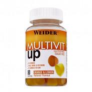 Multivit Up Multivitamínico Multimineral de Weider 80 gominolas
