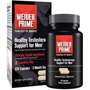 Weider Prime Testosterone Suporte para Homens 60 Cápsulas