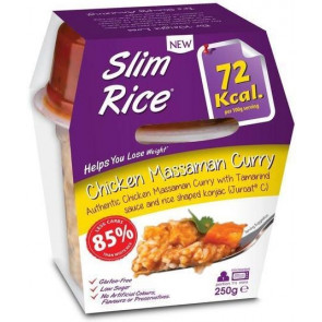 Slim Pasta Arroz Massaman Curry com frango 250 g