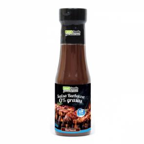 Salsa Barbacoa 0% grasas Smart Foods 350 ml