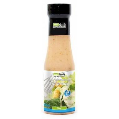 Salsa César 0% grasas Smart Foods 350 ml