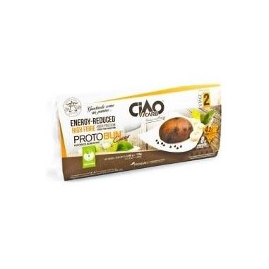 Bollo de Pan CiaoCarb Protobun Fase 2 Cacao