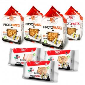 Sortido de Pasta Fase 1 CiaoCarb 7 unidades