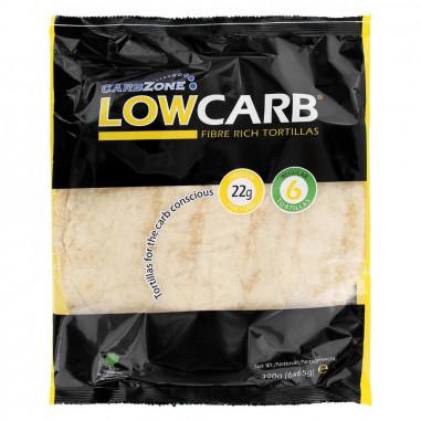 Tortillas Ricas en Fibra y Proteínas LowCarb (390 g)