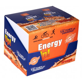 Caja 24 x 40g Energy Up! Gel Victory Endurance Naranja