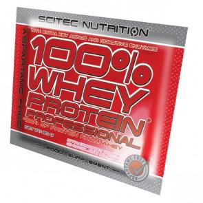 100% Whey Professional Scitec Nutrition Yogur Melocotón Monodosis 30 g