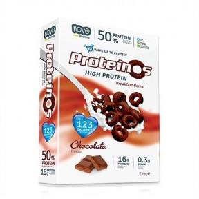 Proteinos Cereais de Proteína Sabor Chocolate 256g Novo