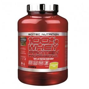 100% Whey Professional Scitec Nutrition Creme de Ananás 2350 g