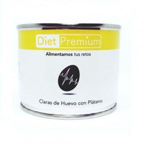 Claras de Huevo con Plátano en Lata Diet Premium 140 g