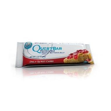 Quest Bar Protein Crema de Maní e Mermelada 60 g