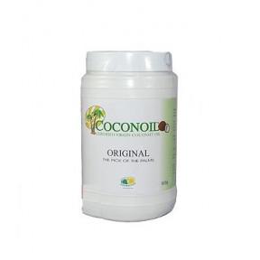 Pack 5 x 4 920 g Óleo de Coco Virgem Coconoil Original Frasco 1000 ml