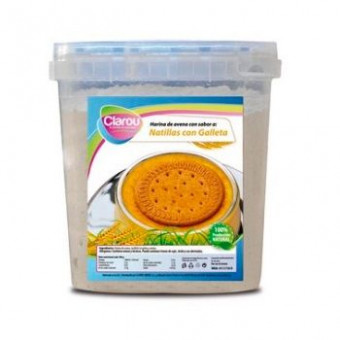Harina de Avena Sabor Natillas con Galleta 2 kg