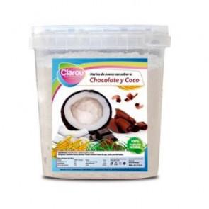 Farinha de Aveia Sabor Chocolate e Coco Clarou 2 kg
