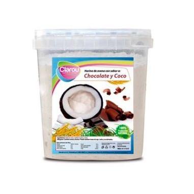 Harina de Avena Sabor Chocolate y Coco 2 kg