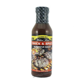 Walden Farms Thick 'n Spicy Barbecue Sauce, 355 ml