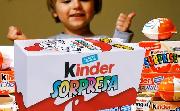 el huevo kinder sorpresa es una bomba de azúcar