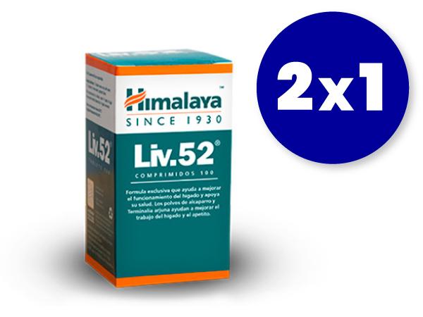 2x1 Liv52 de Himalaya