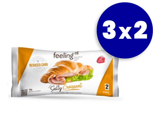 3x2 Croissant salado FeelingOk