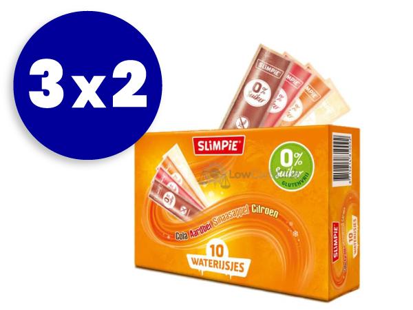 3x2 Polo flash sin azúcar Slimpie