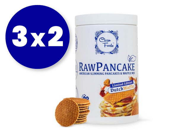 3x2 Preparado lowcarb para gofres de Cleanfoods