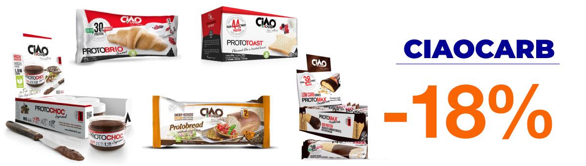 Llévate los productos de la familia Ciaocarb con un descuento hasta el 35 por ciento