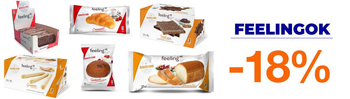 Llévate cualquier producto FeelingOk con un descuento de hasta el 40 por ciento