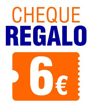 Cheque regalo de 6€