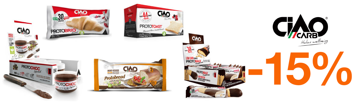 Llévate los productos de la familia Ciaocarb con un descuento del 15 por ciento