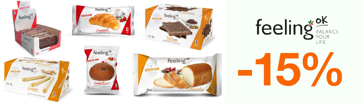 Llévate cualquier producto FeelingOk con un descuento del 15 por ciento