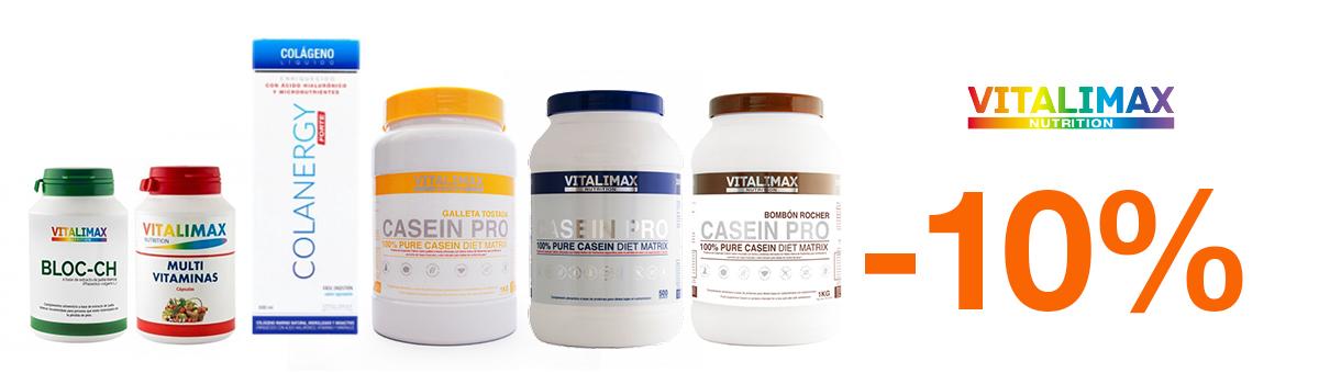 Llévate cualquier producto Vitalimax