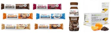 Barritas, batidos y galletas bajas en carbohidratos de phd smart con un 25 por ciento de descuento en este black friday