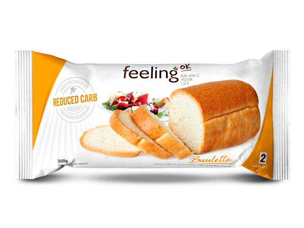 Pan bajo en carbohidratos Bauletto Línea 2 Optimize FeelingOk
