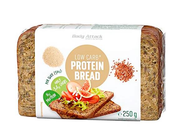 Pan de molde bajo en carbohidratos Body Attack