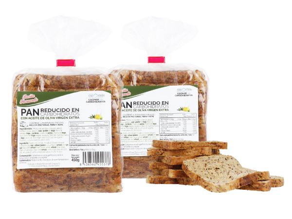 Pan de molde bajo en carbohidratos CSC Foods