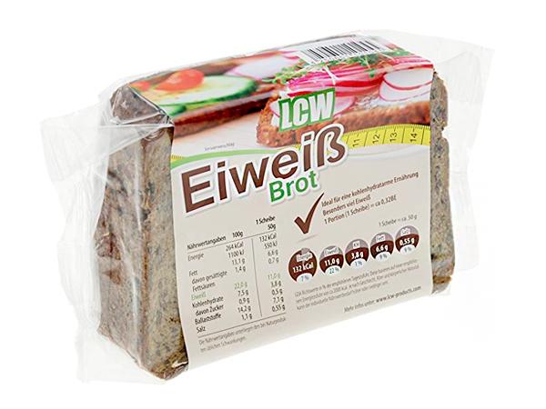 Pan de molde bajo en carbohidratos LCW