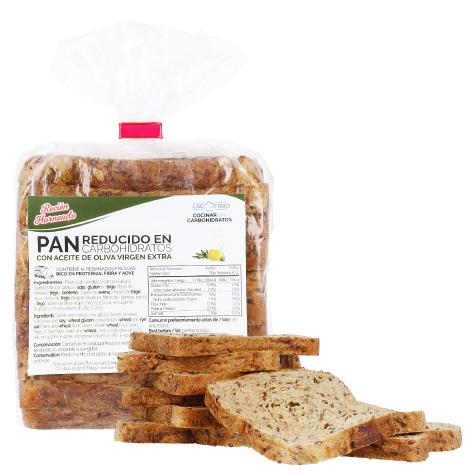 Sin IVA en Pan Proteico de molde bajo en carbohidratos CSC Foods