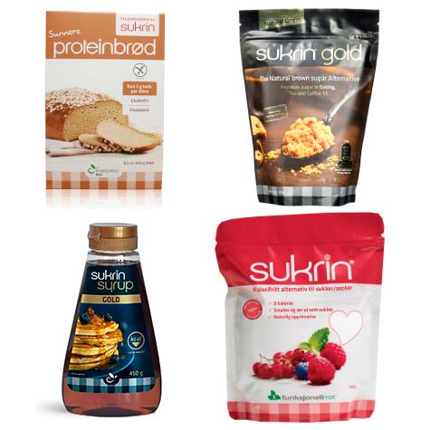 Sin IVA en todos los productos Sukrin