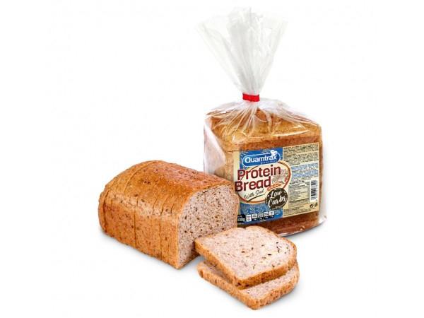 Pan de molde bajo en carbohidratos Quamtrax