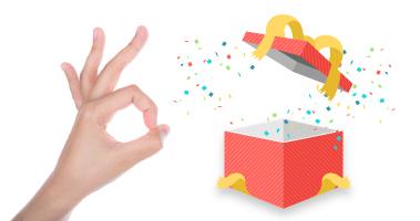 Te llevas un regalo sorpresa con tu pedido en función de tus gustos