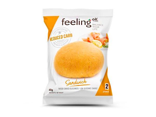 Sandwich bajo en carbohidratos Línea 2 Optimize FeelingOk
