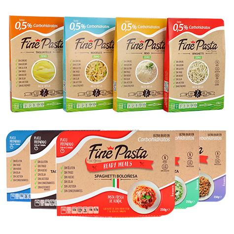 Sin IVA en todos los productos Fine Pasta