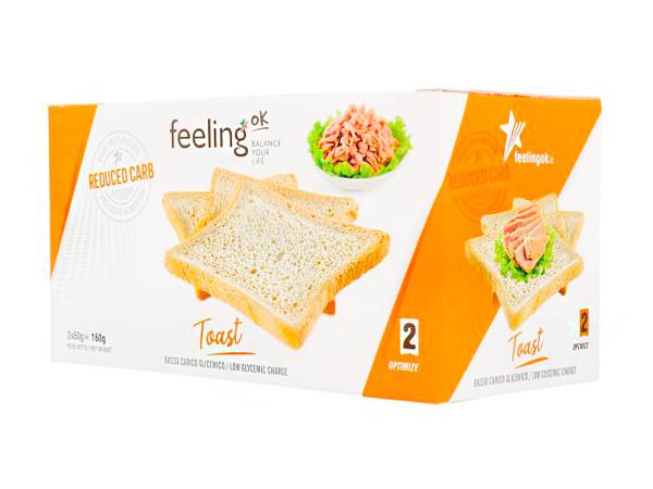 Tostadas bajas en carbohidratos Línea 2 Optimize FeelingOk