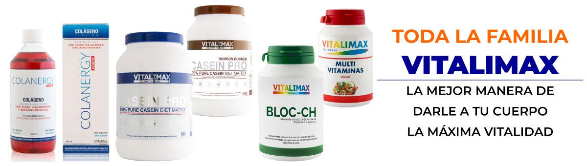 Usa el cupón del 10 por ciento de descuento en los productos Vitalimax