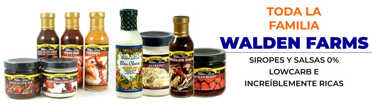 Usa el cupón del 10 por ciento de descuento en los productos Walden Farms