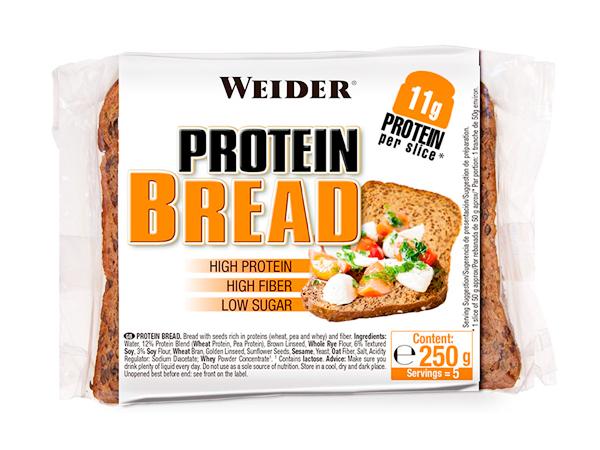 Pan bajo en carbohidratos Weider