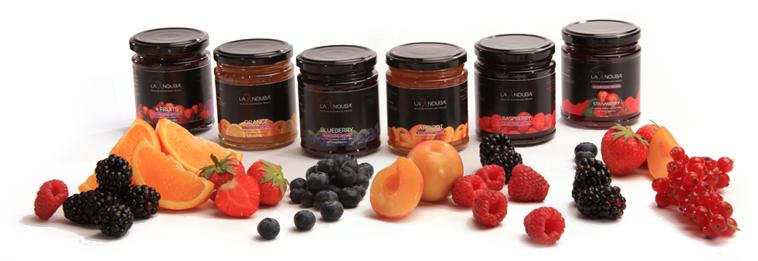 Low-carb La Nouba fruit jam