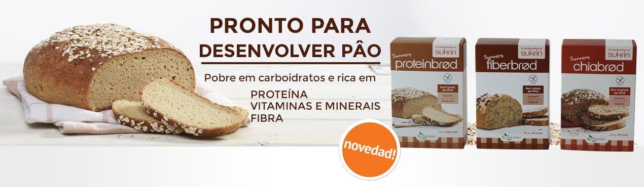 Novedad: Preparado para fazer pâo Sukrin pobre em carboidratos e rica em proteina, vitaminas, minerais e fibra