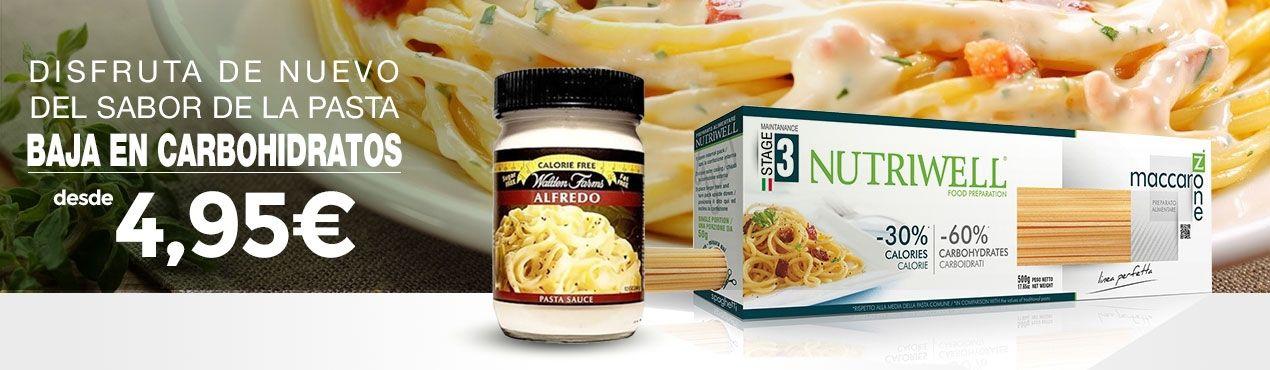 Vuelve a disfrutar del delicioso sabor de la pasta y las salsas libres de carbohidratos.
